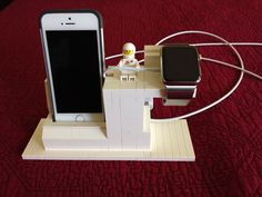 Lego charging station for Apple Watch and iPhone