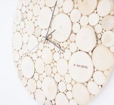 extra large 24 inches diameter clock by urbanplusforest