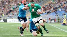 Italy 10 Ireland 63   Collectors of the first ever losing Six Nations bonus point last week, Ireland bagged the first try bonus point of the tournament after routing Italy in Rome.