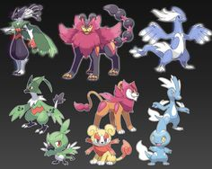 fan made pokemon evolution - Google Search