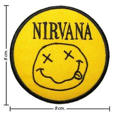 Nirvana American Rock Band Iron on Patch by noieasyshop on Etsy