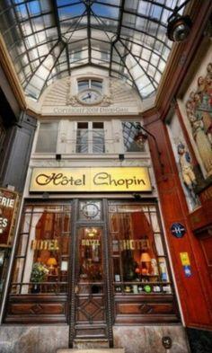 Hotel con encanto.Paris.