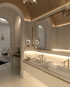 Contemporary Home Decor pin design 3991917909 to attempt for one stunning room decorating. Bad Inspiration, Bathroom Inspiration, Home Room Design, Home Interior Design, Bathroom Design Luxury, Dream Bathrooms, House Rooms, Abu Dhabi, Videos