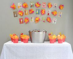 cute dragon theme - reds, yellows, oranges... Clara's Dragon Party | Young House Love