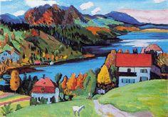 Gabriele Münter, Autumn, 1923