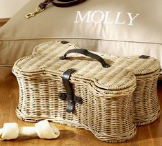 Cute #dogs stuff #PotteryBarn!! I definitely need this because my two boys chew their beds up!!!