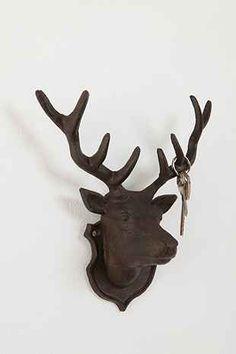 Deer Head Hook - Urban Outfitters