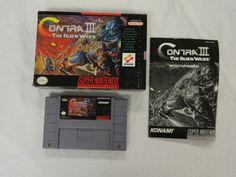 Contra III 3: The Alien Wars (Super NES) #classic
