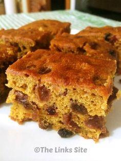 Pumpkin Fruit Cake Recipe - thelinkssite.com