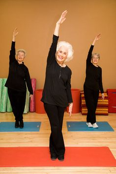 yoga for balance - will be good for chair assisted yoga group