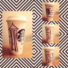 Art by Caitlyn Ray Griffin. #WhiteCupContest