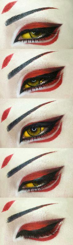 阴阳师眼妆妖狐