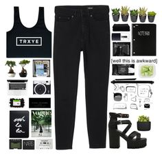 """Untitled #2044"" by tacoxcat ❤ liked on Polyvore featuring Monki, Kat Von D, Mead, Sephora Collection, NARS Cosmetics, Marc Jacobs, Home Source International, Normann Copenhagen and Kate Spade"