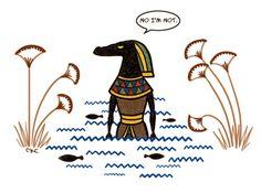 Where is Sobek? In De Nile! HaHa!