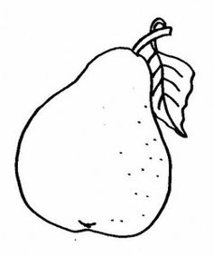 Fruit coloring page part 2 Fruits coloring page Pinterest