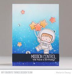 Stamps: Space Explorer Die-namics: Space Explorer Melania Deasy #mftstamps