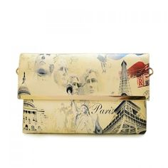 Fashion Print and Envelope Design Women's Clutch, AS THE PICTURE in Clutch Bags | DressLily.com
