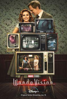 WandaVision Movie Poster High Quality Glossy Print Photo Wall Art Elizabeth Olsen Disney Marvel Size