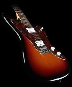 Squier by Fender Vintage Modified Jagmaster Electric Guitar 3-Tone Sunburst