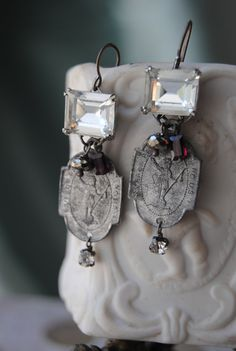 earrings by Christine Wallace