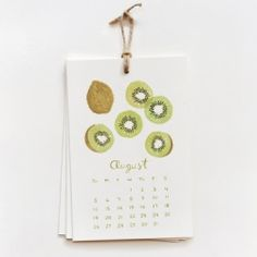 I would love to watercolor a calendar.