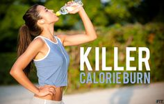 Burn 500 calories in this 37 minute total body workout video!