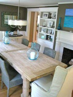chic coastal living | Coastal Chic Dining Room