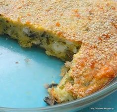 Υπέροχη τυρένια μανιταρόπιτα χωρίς φύλλο Salty Tart, Mushroom Pie, Lasagna, Quiche, Recipies, Stuffed Mushrooms, Healthy Recipes, Snacks, Vegetables