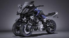 Yamaha MWT 9 2016 3D Model .max .c4d .obj .3ds .fbx .lwo .stl @3DExport.com by SQUIR @3