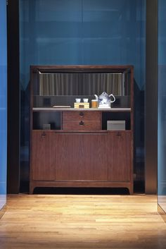 Cabinet Furniture, Cool Furniture, Boy Dresser, Built In Refrigerator, Hotel Amenities, Bar Lounge, Restaurant Bar, Shelves, Interior Design