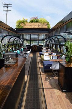 """Montreal's First-Ever """"Floating Boat Café"""" You Gotta See To Believe Floating Boat"""