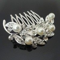I think you'll like  Crystal pearl hair pins. Wedding Party Woman Girls Hair accessories Bride Hair Combs. Add it to your wishlist!  http://www.wish.com/c/549574df653d5121b053c453