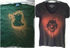 unisex t-shirts godzilla devil
