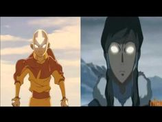 This video is AWESOME!!! It combines the music from Aang's avatar state and Korra's avatar state!! It sounds very cool!!!