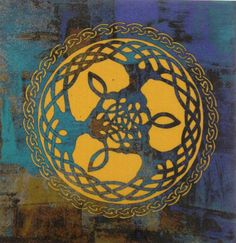Hey, I found this really awesome Etsy listing at https://www.etsy.com/listing/289607175/tree-of-life-celtic-quilting-fabric