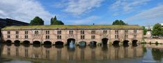 ... et villages Panoramas: Alsace Le barrage Vauban - Strasbourg - France