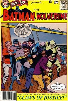 Super-Team Family: The Lost Issues!: Batman and Wolverine (Retro)