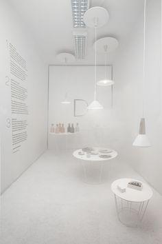 Instalation for Marketa Drzmiskova by Petr Hák Prague Czech Republic, Black Curtains, White Rooms, Technology, Architecture, Home Decor, Tech, Arquitetura, White Bedrooms