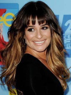 Long layered hairstyles with bangs are now in great demand. Everyone wants a flattering hairstyle, that's also trendy, effortless-looking. here 12 celebrity hairstyles with bangs to inspire your style. Must Read 17 Best Bridal Hair Trends Lea Michele, My Hairstyle, Hairstyles With Bangs, Trendy Hairstyles, Gorgeous Hairstyles, Layered Hairstyles, Celebrity Bangs, Celebrity Hairstyles, Double Hair Buns