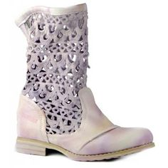 Pink Bunker boots