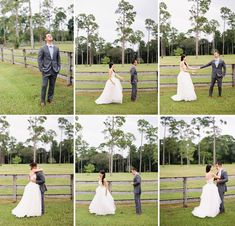 1st LOOK - Southern Garden Bow Tie Wedding: Laurie + Everett captured by Ryan Ray - via greenweddingshoes