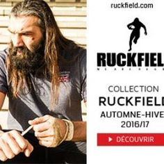 Nouvelle Collection rugby Ruckfield Sébastien Chabal  - RUCKFIELD