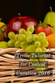 A new demo of one of my favorite content curation tools! In this video, I give a Trello app tutorial on how to use it for content curation. This will help you manage your curated content, especially with content curation for bloggers. No content curation software or content curation plugin needed!
