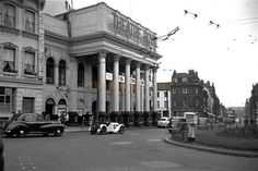 The Theatre Royal, Nottingham during the run of 'Can-Can' on the of June 1956 - Courtesy Gerry Atkins Nottingham City Centre, Cinema Theatre, Belfast, Over The Years, The Past, Street View, History, Theatres, Atkins