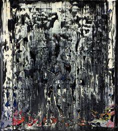 Splint, abstract  Gerhard Richter