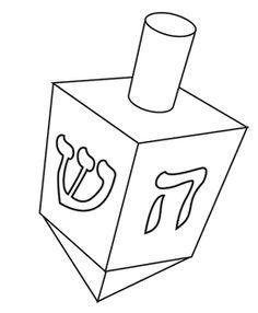 chanukah story coloring pages | Hanukkah Activities for Preschoolers | Hanukkah Driedel ...