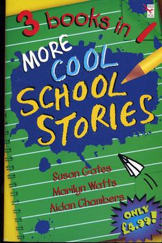 """1999 """"More Cool School Stories"""" a Red Fox anthology (includes my book """"Runners"""")"""