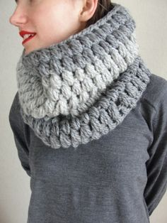 İnfinity Crochet women scarfmen scarf loop by Stylishknitting, $48.00
