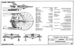 Star Trek Schematics | U.S.S. Reliant