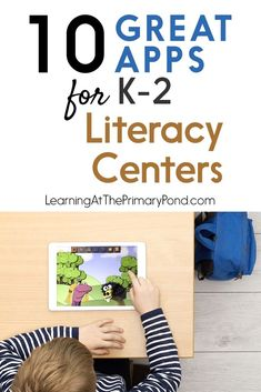 Looking for some great apps for literacy centers? In this post, I'll share 10 apps that I love!